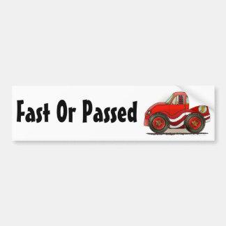 Pegatina para el parachoques rápida o pasajera del pegatina de parachoque