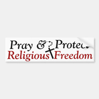 Pegatina para el parachoques religiosa de la liber pegatina para auto