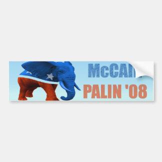 Pegatina para el parachoques republicana del coche pegatina de parachoque
