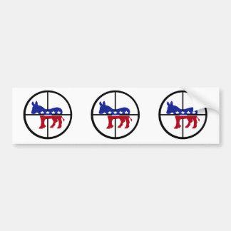 Pegatina para el parachoques republicana del franc etiqueta de parachoque