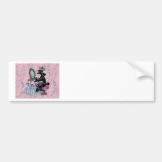Pegatina para el parachoques retra del arte del ga etiqueta de parachoque