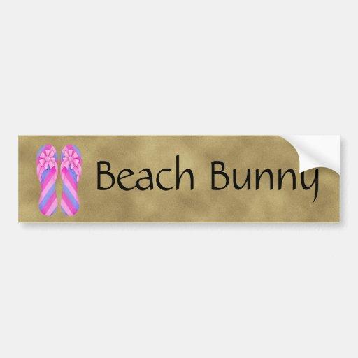 Pegatina para el parachoques rosada de las rayas d etiqueta de parachoque