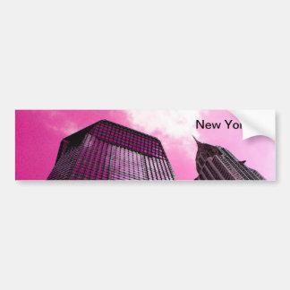 Pegatina para el parachoques rosada de los días pegatina de parachoque