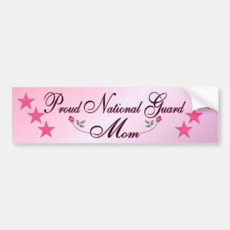 Pegatina para el parachoques rosada y orgullosa de etiqueta de parachoque
