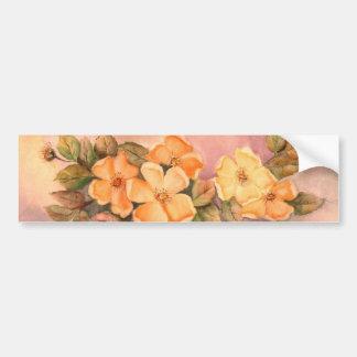 Pegatina para el parachoques salvaje floral de los pegatina para auto