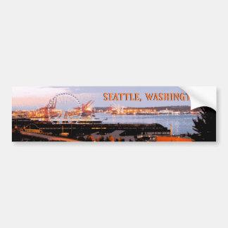 Pegatina para el parachoques - Seattle, Washington Pegatina Para Auto