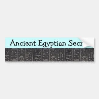 Pegatina para el parachoques secreta egipcia antig pegatina para auto