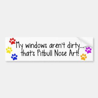 Pegatina para el parachoques sucia de Windows del  Pegatina Para Auto