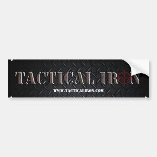 Pegatina para el parachoques táctica del hierro etiqueta de parachoque