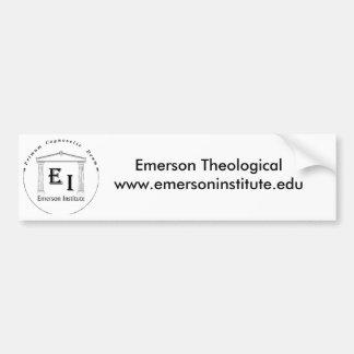 Pegatina para el parachoques teológica del institu pegatina de parachoque