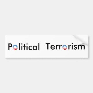 Pegatina para el parachoques - terrorismo político pegatina para auto