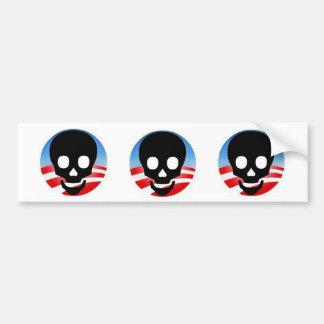Pegatina para el parachoques tóxica de Obama Pegatina Para Auto