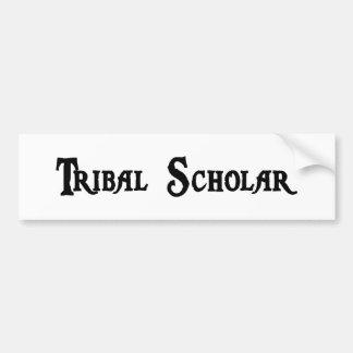 Pegatina para el parachoques tribal del escolar etiqueta de parachoque