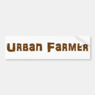 Pegatina para el parachoques urbana del granjero pegatina para auto