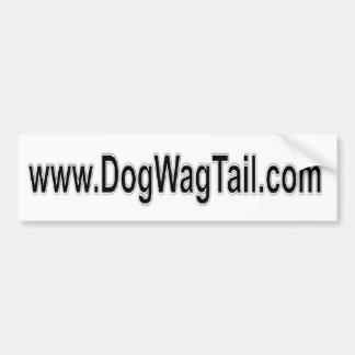 Pegatina para el parachoques - www.dogwagtail.com etiqueta de parachoque