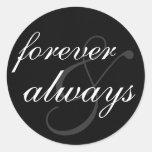 Pegatina - para siempre y siempre