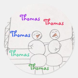 pegatina para Thomas