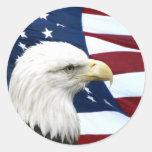 Pegatina patriótico