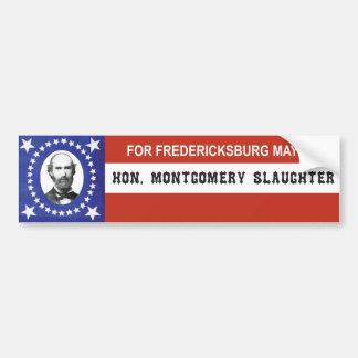 Pegatina patriótico de la campaña pegatina para auto