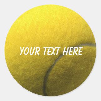Pegatina personalizado del tenis
