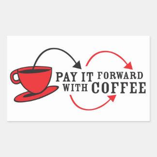 Pegatina PiF del café