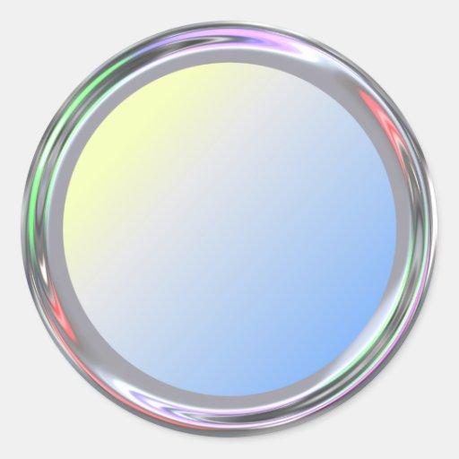 Pegatina plateado para el texto, logotipo, imagen