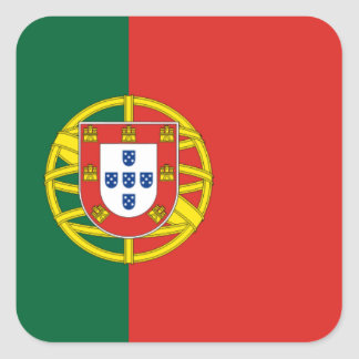 Pegatina portugués de la bandera