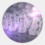 Pegatina principal del ajedrez
