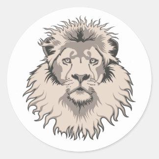 Pegatina principal del león
