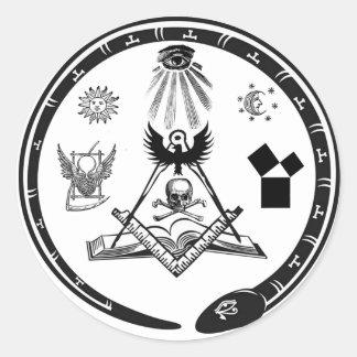 Pegatina principal del logotipo