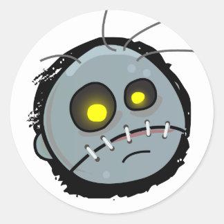 Pegatina principal del zombi