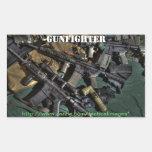 Pegatina promocional 2 del Gunfighter