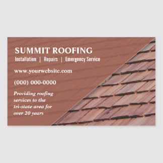 Pegatina promocional de los Roofers