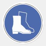 Pegatina protector de la seguridad del calzado