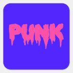 Pegatina punky adaptable de la fuente del goteo -