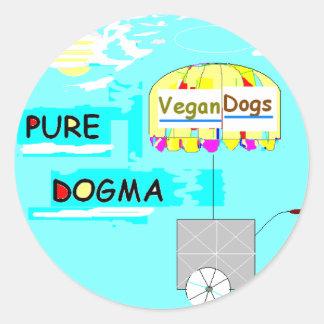 Pegatina puro del dogma
