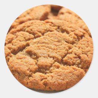 Pegatina rápido de las galletas del jengibre