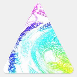"""Pegatina """"rastros multicolores"""" multicolor abstrac"""