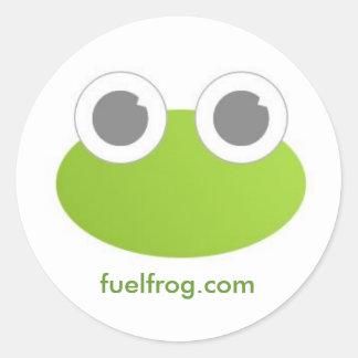 Pegatina redondo de FuelFrog