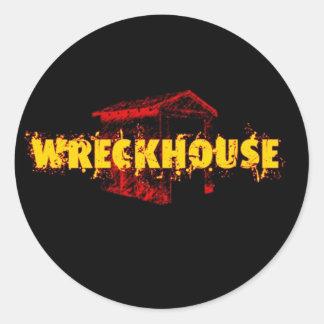 Pegatina redondo de Wreckhouse