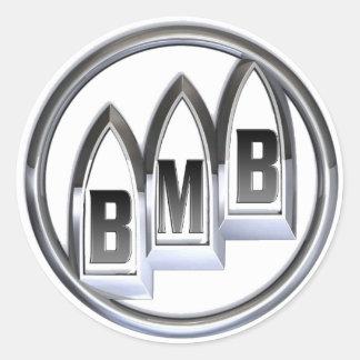 Pegatina redondo del logotipo de Buick MacKane