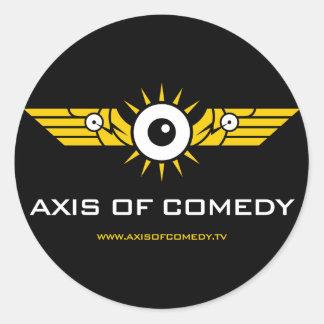 Pegatina redondo del logotipo del color de AOC