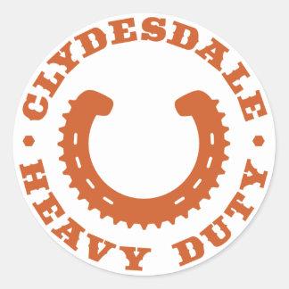 """Pegatina """"resistente"""" de Clydesdale MTB"""