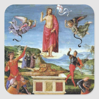 Pegatina: Resurrección de Kinnaird Pegatina Cuadrada