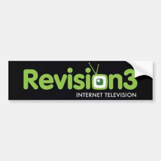 Pegatina Revision3 Etiqueta De Parachoque