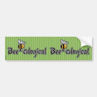 pegatina scrapbooking de la abeja-ological pegatina para auto