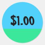 Pegatina simple del precio del BESTSELLER -