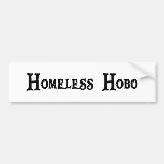 Pegatina sin hogar del hobo pegatina para auto