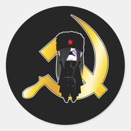 Pegatina soviético blando