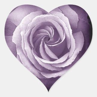 Pegatina subió boda color de rosa púrpura del